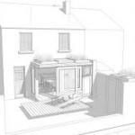 uitbouw woning